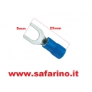 CAPOCORDA A FORCELLA 5 mm  art. CAP40