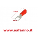 CAPOCORDA A FORCELLA 5 mm  art. CAP50