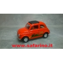 AUTO FIAT 500F  RETROCARICA 1/43  art. 496