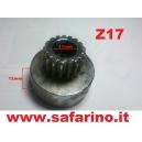 CAMPANA FRIZIONE 17T  ACCIAIO  art.  10017