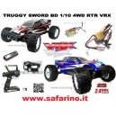 AUTO SWORD TRUGGY  RC-550  2.4ghz 1:10 RTR  art. RH1011T