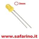 LED 3MM GIALLO 3V  art. LED21