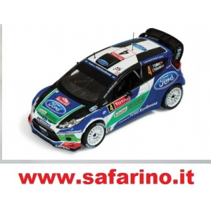 FORD FIESTA RS WRC n.4 RALLY MONTE CARLO 2012  1/43  art. 0079