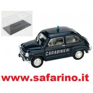 FIAT 600D CARABINIERI  1965  1/43  art. C016