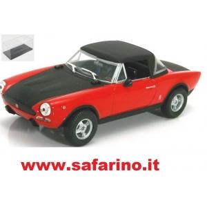FIAT 124 ABARTH RALLY 972 1/43   art. H57
