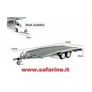 CARRELLO TRASPORTO AUTO - 1/24 ELLEBI  art. LM11124