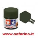 COLORE PER PLASTICA DARK GREEN 2RAF  TAMIYA  art. XF81