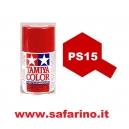 COLORE SPRAY PER LEXAN METALLIC RED TAMIYA  art. PS15