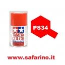 COLORE SPRAY PER LEXAN BRIGHT RED TAMIYA  art. PS34