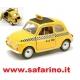 FIAT 500F  N.Y.C. TAXI 1/24  BURAGO  art . N761
