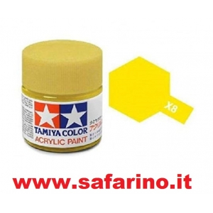 COLORE PER PLASTICA LIMON YELLOW  TAMIYA  art. X8