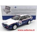 ALFA ROMEO ALFETTA GTV6 n.14 RALLY TOUR DE CORSE 1986 1/18 SOLIDO art. 1802303