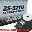 SERVO STANDARD ANALOGICO 3,0Kg. ZEBRA  art. 2113