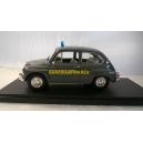 FIAT 600 GUARDIA dI FINANZA 1/18 SAFARI MODEL art. SAF823
