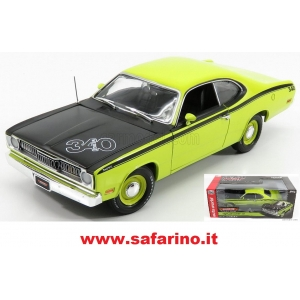 PLYMOUTH DUSTER COUPE 1971 AUTOWORLD 1/18   art. 1154