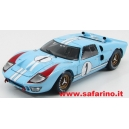 FORD GT40 MKII 7.0L V8 n.1 1966  SHELBY 1/18 art. Y411