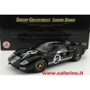 FORD GT40 MKII 7.0L V8 n.2 1966  SHELBY 1/18 art. Y408
