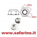 DADO AUTOBLOCCANTE FLANGIATO M5 TRAXXAS art. TXX5147W