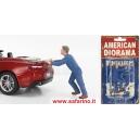 MECCANICO CHE SPINGE AUTO  1/24 art. 38278